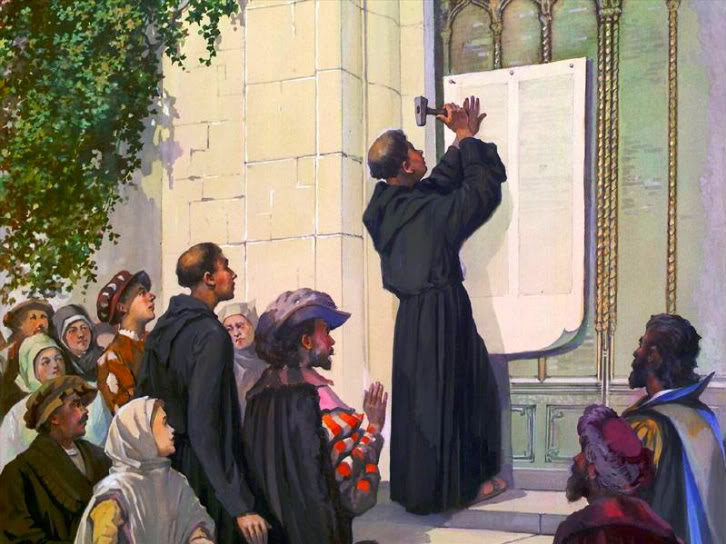 luther thesis 28 Luther's thirteenth thesis is a half-truth the dead are released from canonical rules, but it does not follow that they are freed from all penalties god, in his justice, certainly retains the right to exact a penalty for those sins for which no penance was done.